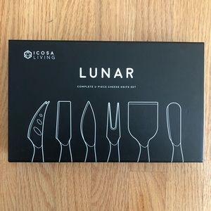 Other - NIB 6-Piece Cheese Knife Set